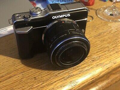 Olympus PEN E-PLMP Digital Camera - Black (mm