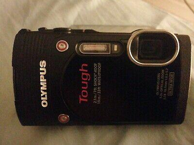 Olympus Stylus TG-MP Digital Camera - Black