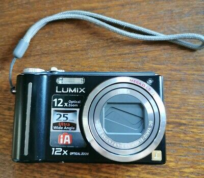 Panasonic LUMIX DMC-LZ1 4.0MP Digital Camera - black