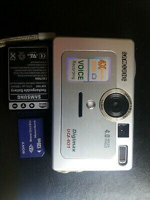 Samsung Digimax U-CA MP Digital Camera - spares