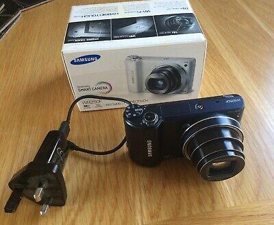 Samsung WB Series WB250F 14.2MP Digital Camera - Dark blue