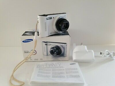 Samsung WB Series WB30F WiFi 16.2MP Digital Camera - White