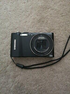 Samsung WB Series WBMP Digital Camera - Black - case