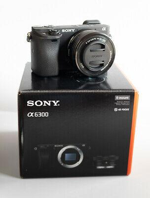 Sony Alpha AMP Digital Camera - Black (Kit with