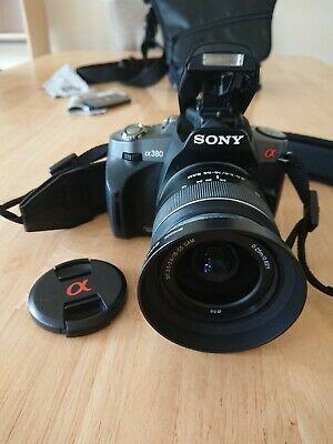 Sony Alpha AMP Digital SLR Camera - Black