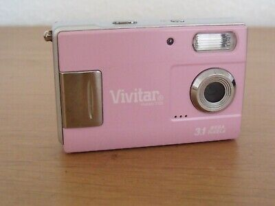 Vivitar ViviCam MP Digital Camera - Pink - Good