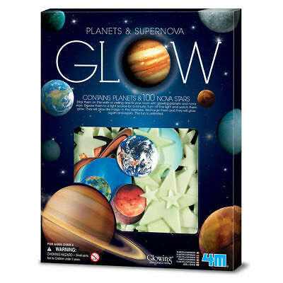 4M Glow in the Dark Planets and Supernova 100pcs - Stick