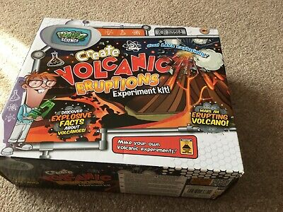 Create Volcanic Eruptions Experiment Kit By Weird Science