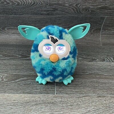 Furby Boom Blue Waves  Hasbro Tested Working Electronic