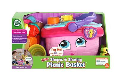 Leapfrog Shapes & Sharing Picnic Basket Pink