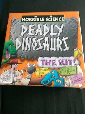 New & Sealed - Galt Toys - Horrible Science - Deadly
