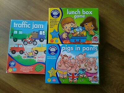 Orchard Games Pig in Pants,Traffic Jam & Lunch box