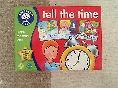 Orchard Toys Tell the Time Game - Location Brinscall PR6