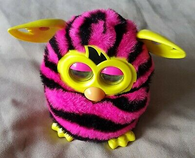Pink & Black Stripes Furby Boom Interactive Pet  Hasbro