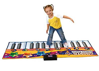 Vivo Gigantic Piano Keyboard Play Mat Party Dance Games Kids