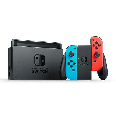 Brand New! Nintendo Switch Console Neon Red/Blue. - Quick