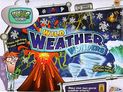 Grafix Wild Weather Wonders Educational Science Volcano