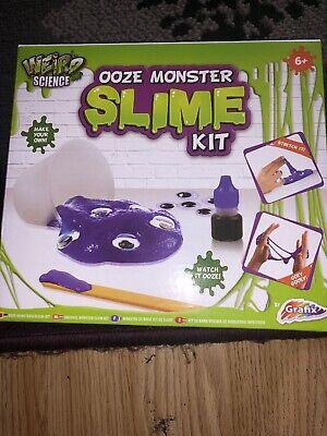 Kids Monster Slime Kit Goo Making Set Make Your Own Ooze