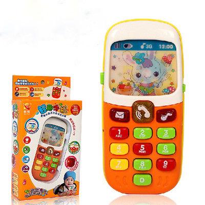 Lovely Children Kids Toy Phone Educational Learning Music