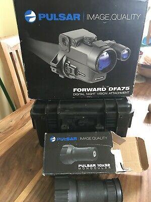 Pulsar DFA 75 digital night vision forward mounted scope