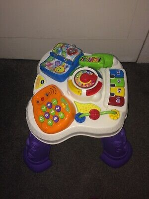 VTech  Play & Learn Activity Table, immaculate as