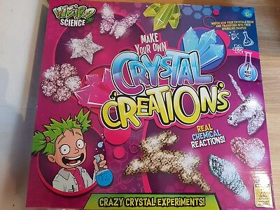 Weird Science Make Your Own Crystal Creations Science Set