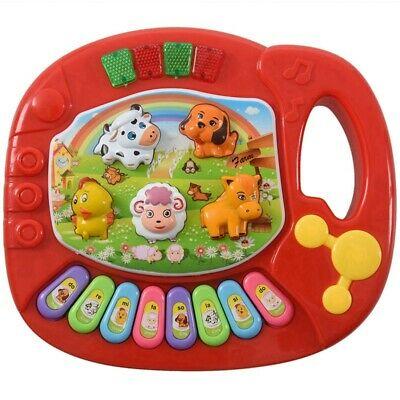 2X(Baby Kids Musical Educational Animal Farm Piano