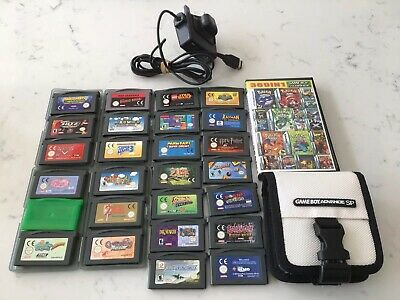 Game Boy Advance SP AGS101 Original With Loads Of Games