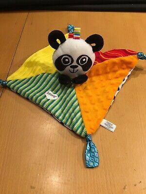 Lamaze Jacques Panda Texture Feely Sensory Toy