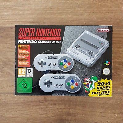 ***Nintendo Classic Mini SNES: Super Nintendo - UNOPENED