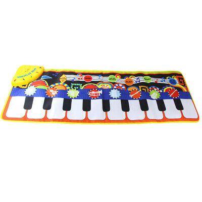 1 Pcs 36X110Cm Baby Piano Mats Music Carpets Children Press
