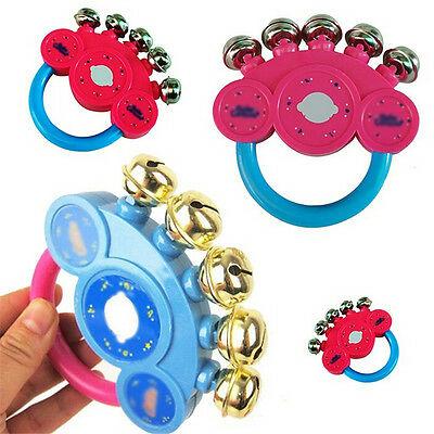 1x Baby Children Kids Rattle Handbells Developmental Toys