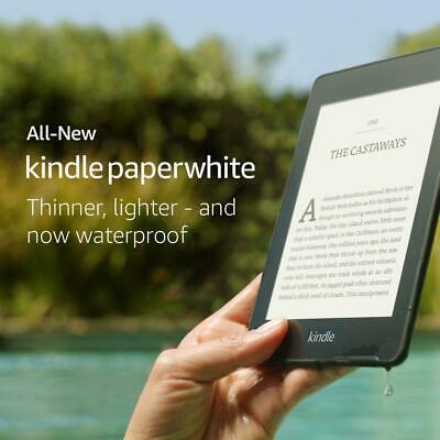 Amazon Kindle Paperwhite 8GB, Waterproof, Backlight,