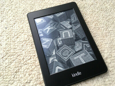 Amazon Kindle Paperwh ite 4GB, Wi-Fi, 6in - Black. Slightly