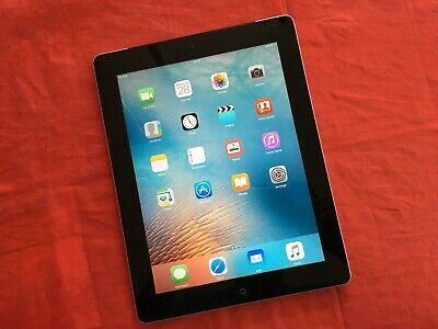 Apple iPad 2 16GB, Wi-Fi + Cellular, 9.7in - Black (See