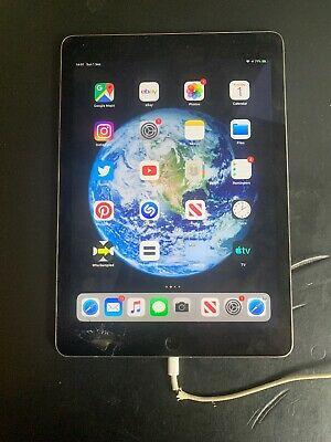 Apple iPad Air 2 64GB, Wi-Fi (Unlocked) Space Grey Cracked