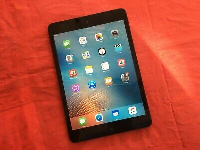 Apple iPad Mini 1st Gen 16GB Cellular 7.9in - Black (See