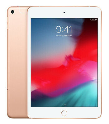 Apple iPad Mini (5th Generation) 64GB, Wi-Fi, 7.9in - Gold -