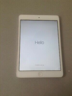 Apple iPad mini 1st Gen. 16GB, Wi-Fi, 7.9in - White & Silver