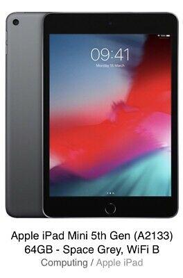 Brand New Sealed Apple iPad Mini GB Wifi A)