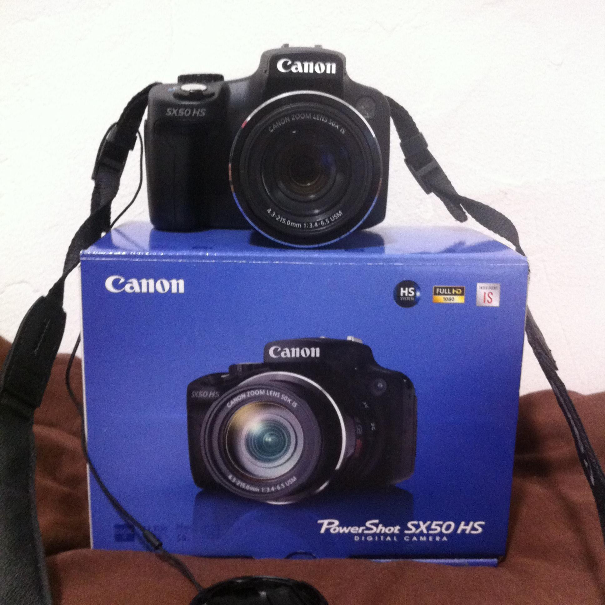 Canon PowerShot SX50 HS Digital Camera with 50x Ultra Wide