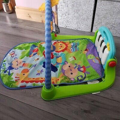 Fisher-Price Kick and Play Piano Gym Baby Mat Toy From Birth
