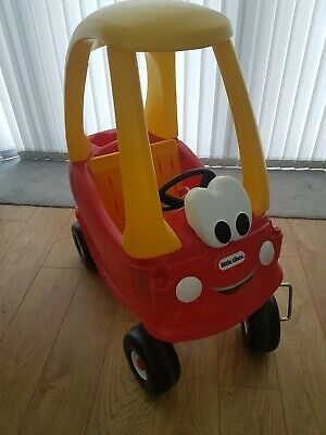 LITTLE TIKES COUPE RED/YELLOW CAR BOY/GIRL