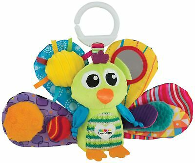 Lamaze JACQUES THE PEACOCK Baby Developmental Toy BN