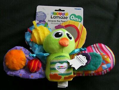 Lamaze LC Jacques The Peacock Brand New RRP £15