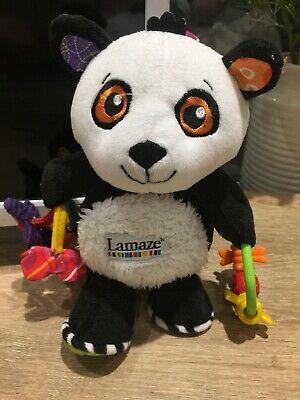 Lamaze Play and Grow Patty The Panda Clip on Pram and