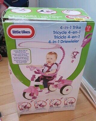 Little Tikes 4 In 1 Trike Purple PLEADE READ DESCRIPTION