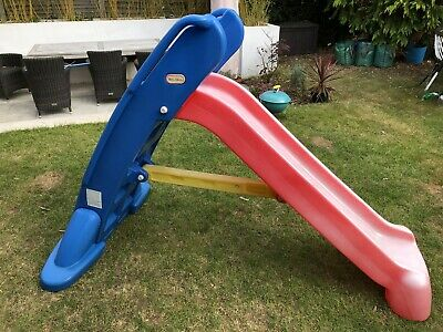 Little Tikes Easy Store Large Slide - Blue/Red