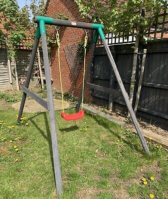 Little Tikes Swing MILANO Single Wooden Childrens Garden