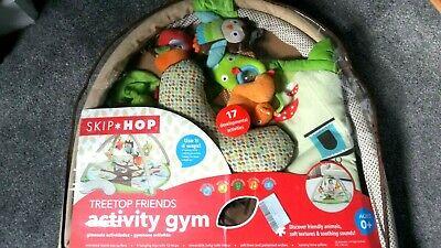 Skip Hop Treetop Friends activity gym baby play mat